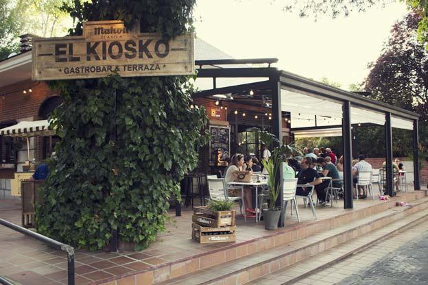 El kiosko abre un nuevo restaurante propio en madrid for El jardin de la maquina pozuelo