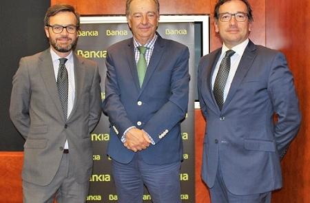 Luis Méndez, Eduardo Abadía y Carlos Gadea