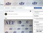 Imagen de la AEF en Facebook