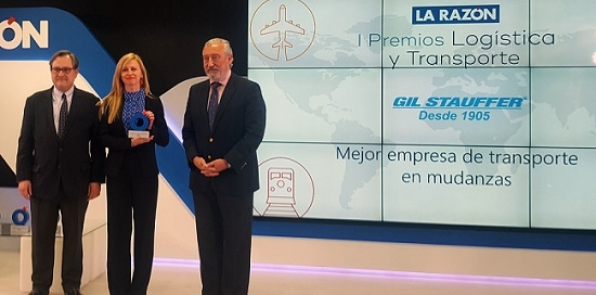 Gil Stauffer - Entrega I Premios Transporte La Razón - 01a